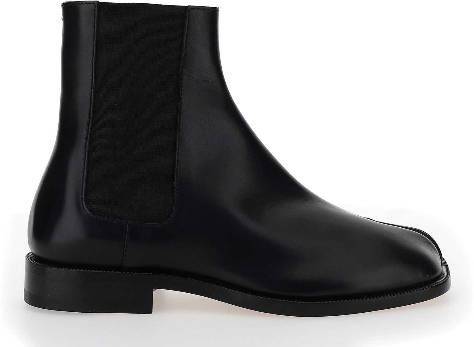Maison Margiela Boots S57WU0150P3292 BLACK imagine b-mall.ro