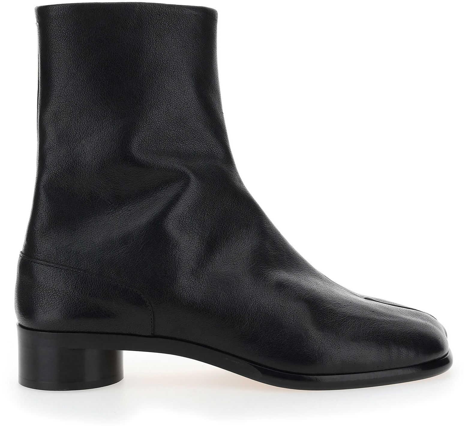 Maison Margiela Boots S57WU0221P3962 BLACK/ECRU imagine b-mall.ro