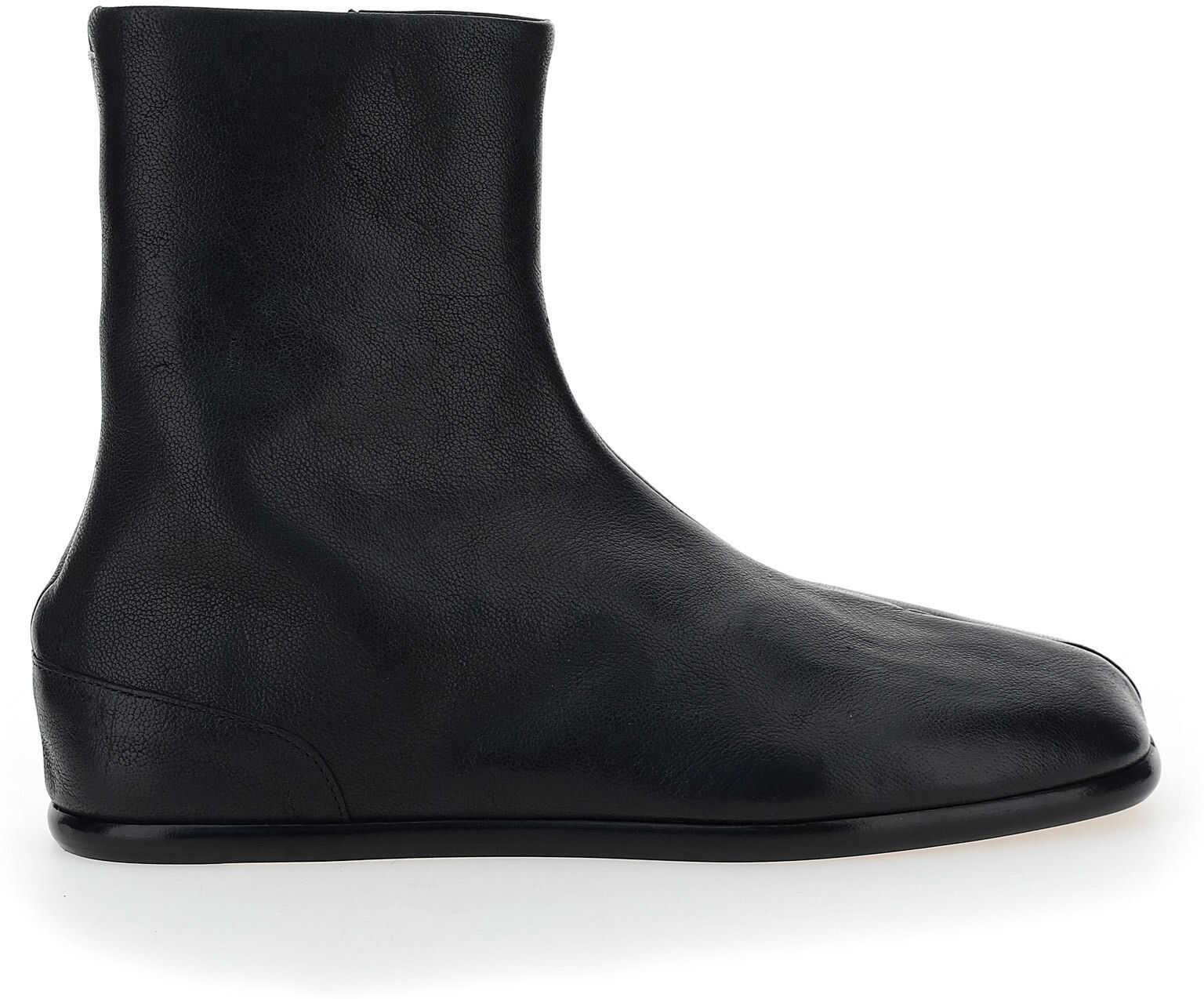 Maison Margiela Sneakers S57WU0222P3962 BLACK/ECRU imagine b-mall.ro