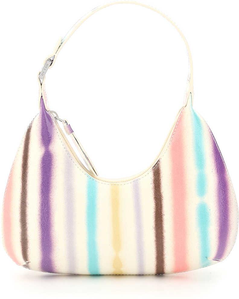 BY FAR Baby Amber Bag With Multicolor Stripes 21SSBASIVRSPRSMA IVORY imagine b-mall.ro