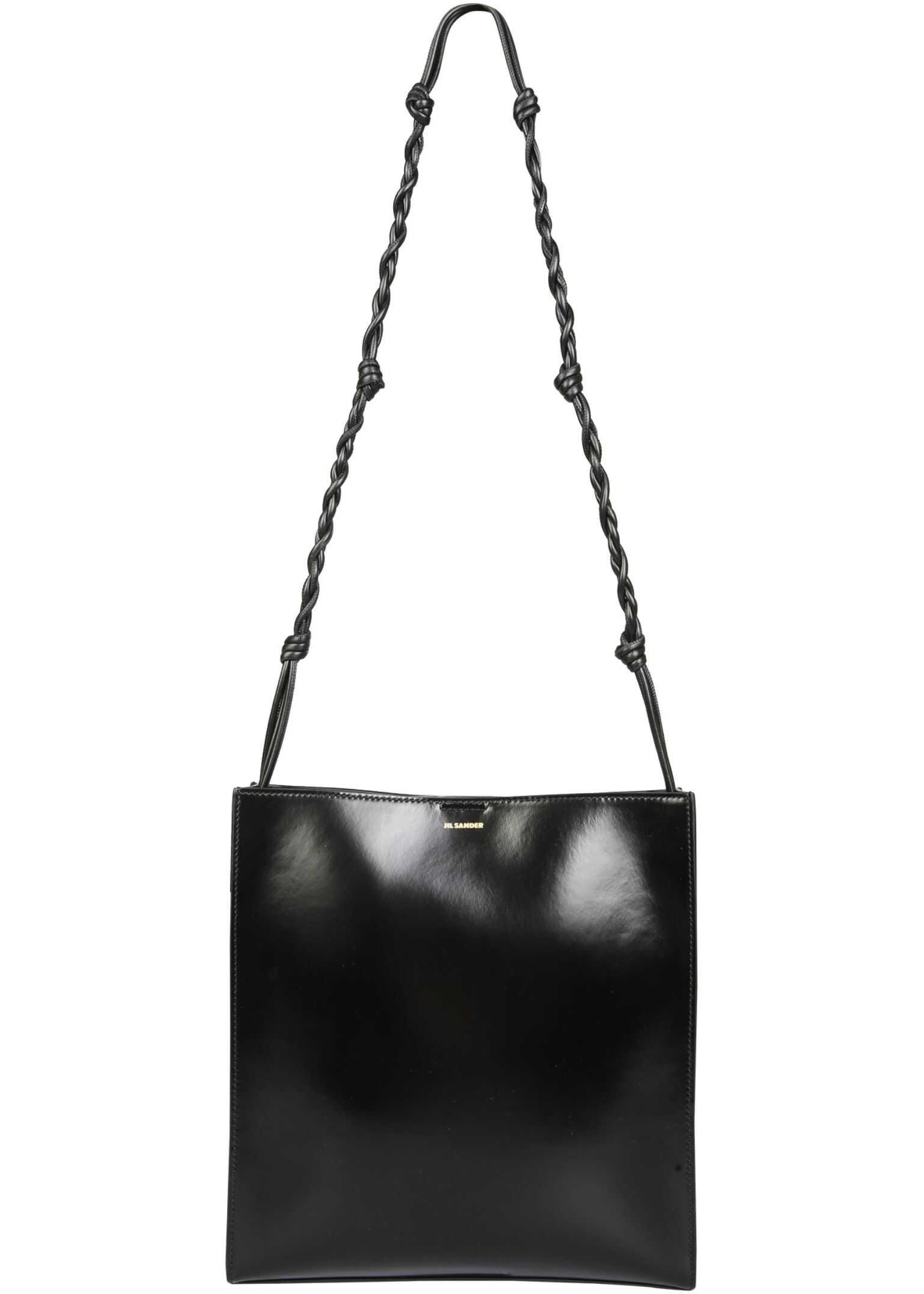 Jil Sander Medium Tangle Bag JSPS853172_WSB69148N001 BLACK imagine b-mall.ro