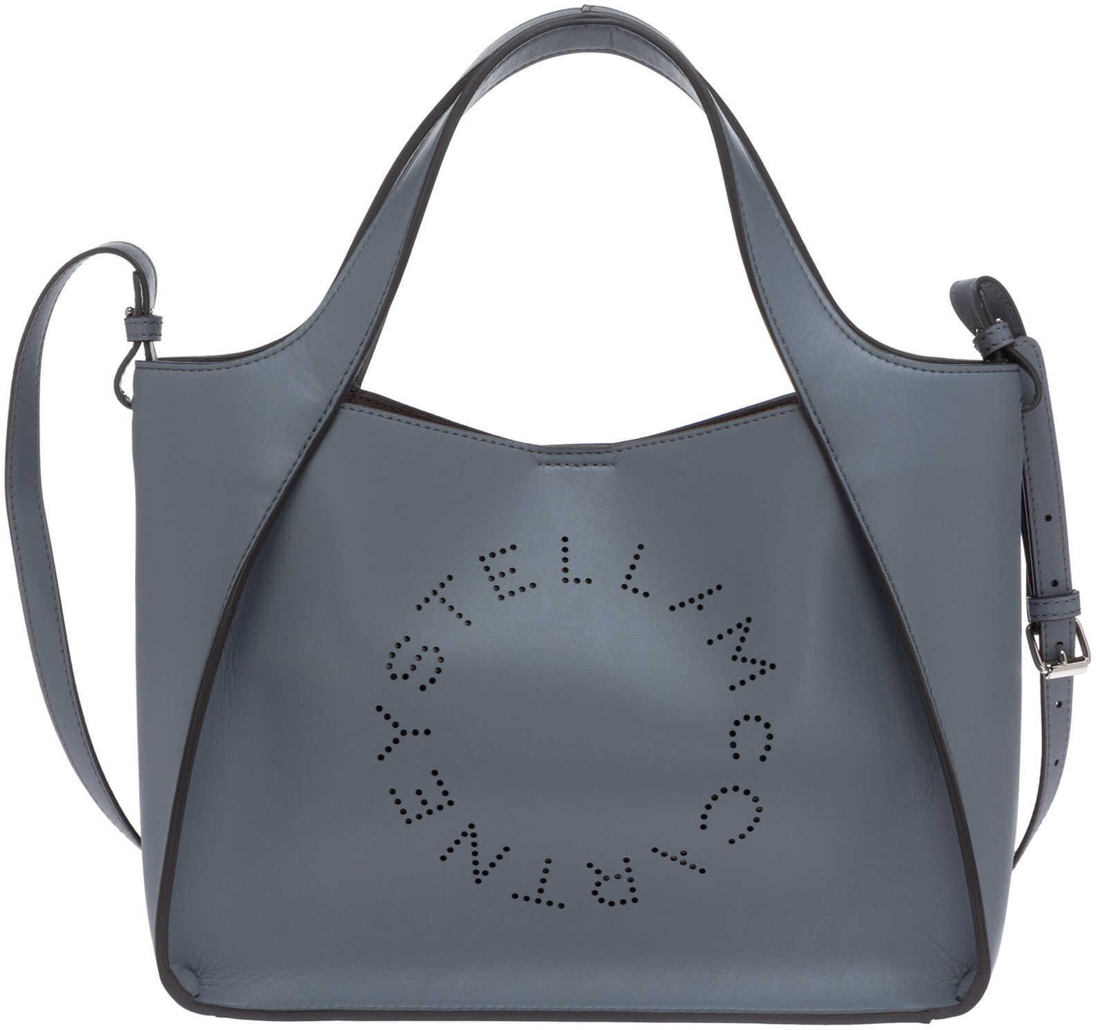 Stella McCartney Stella Logo 513860W85424911 Blue imagine b-mall.ro