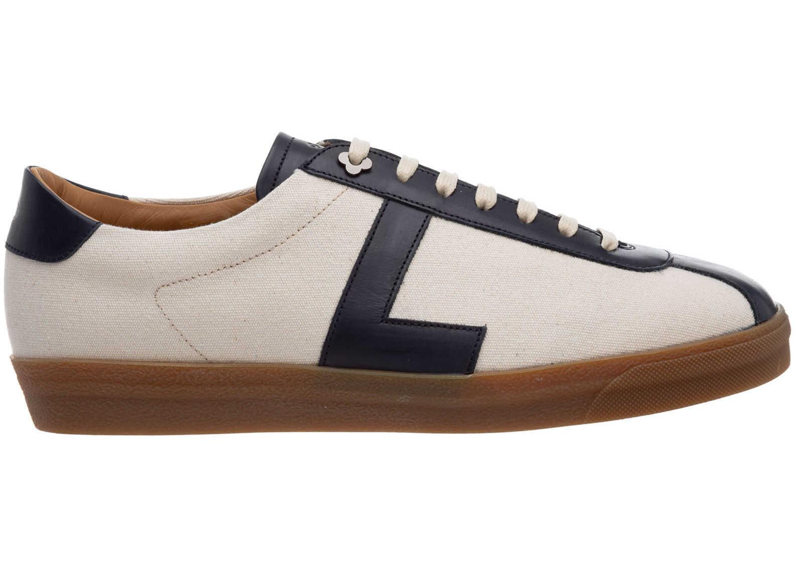 Lardini Trainers Sneakers ELBASQUIAT_EL56340A_850BE Blue imagine b-mall.ro