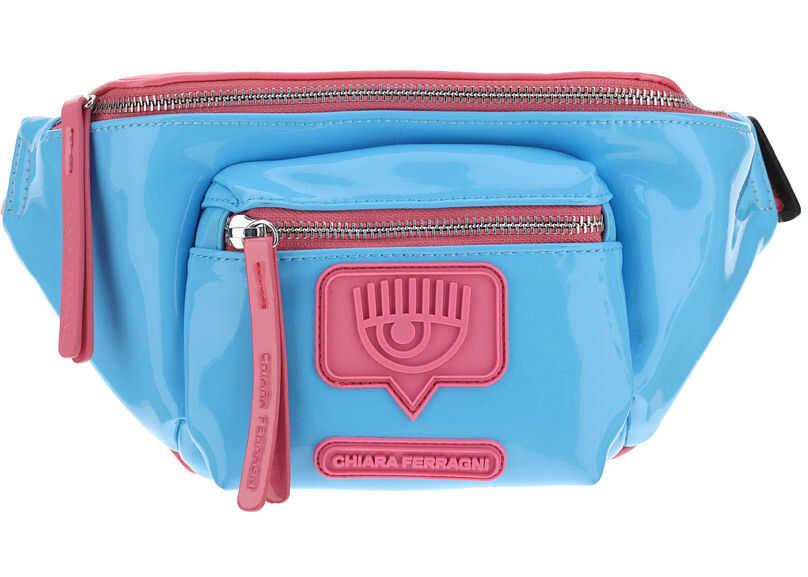 Chiara Ferragni Eyelike Belt Bag 21PECFBB021 MARINE imagine b-mall.ro