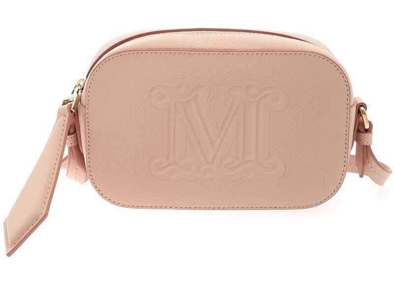 Max Mara Elsa Cross Body Bag In Pink 45112316600008 Pink imagine b-mall.ro