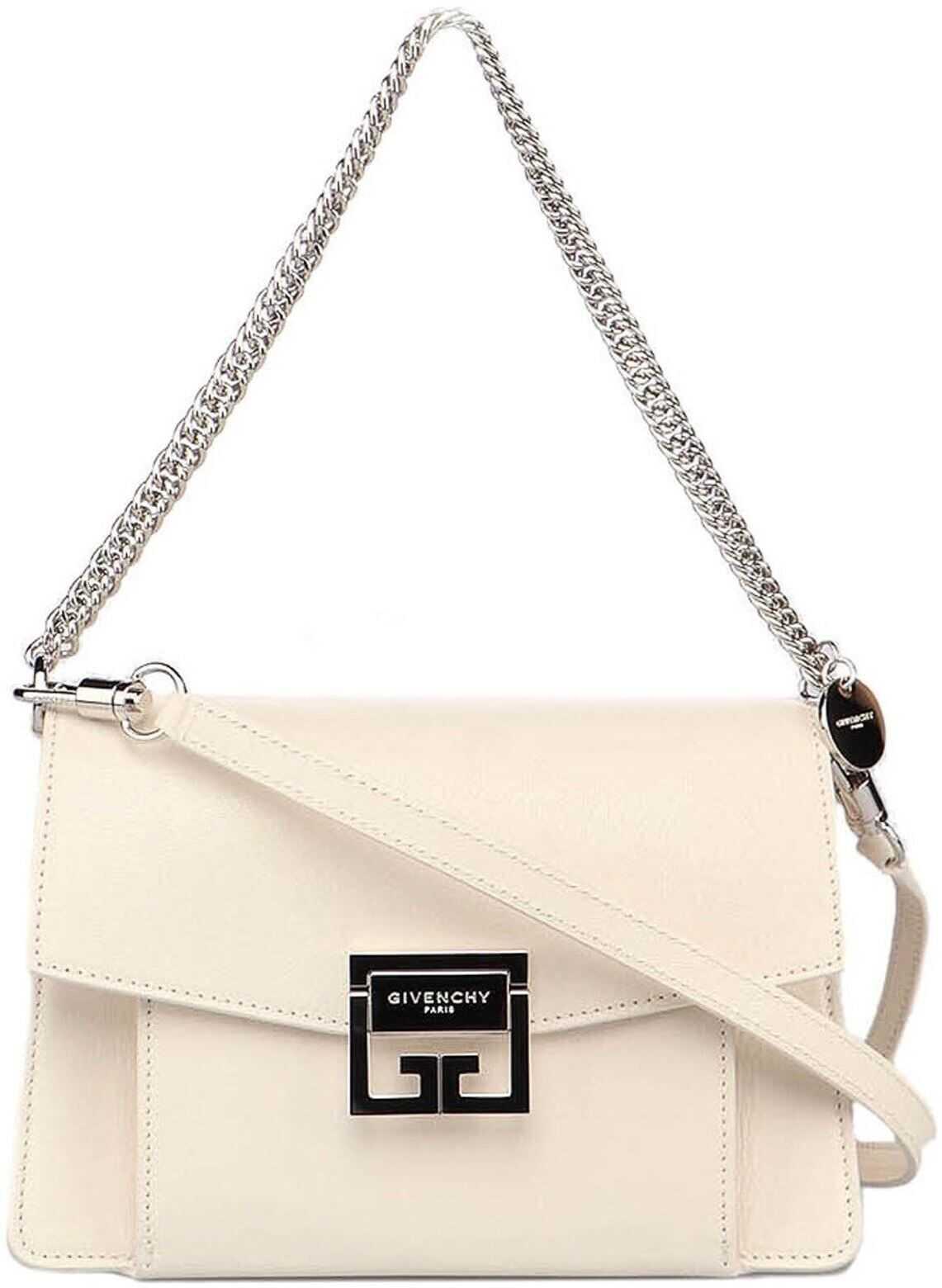 Givenchy Small Gv Bag BB501CB131105 White imagine b-mall.ro