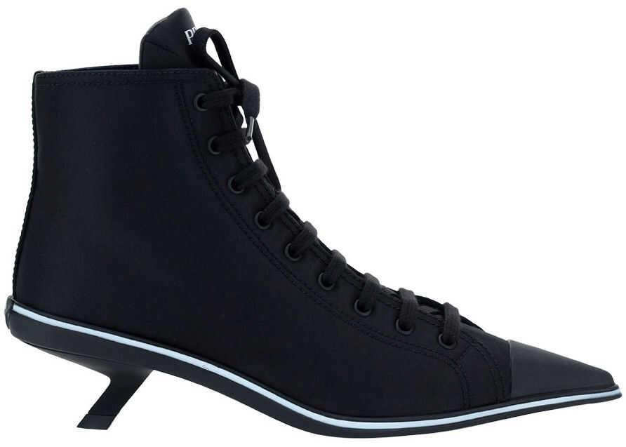 Prada Boots 1T575MF045W08 NERO 1 imagine b-mall.ro