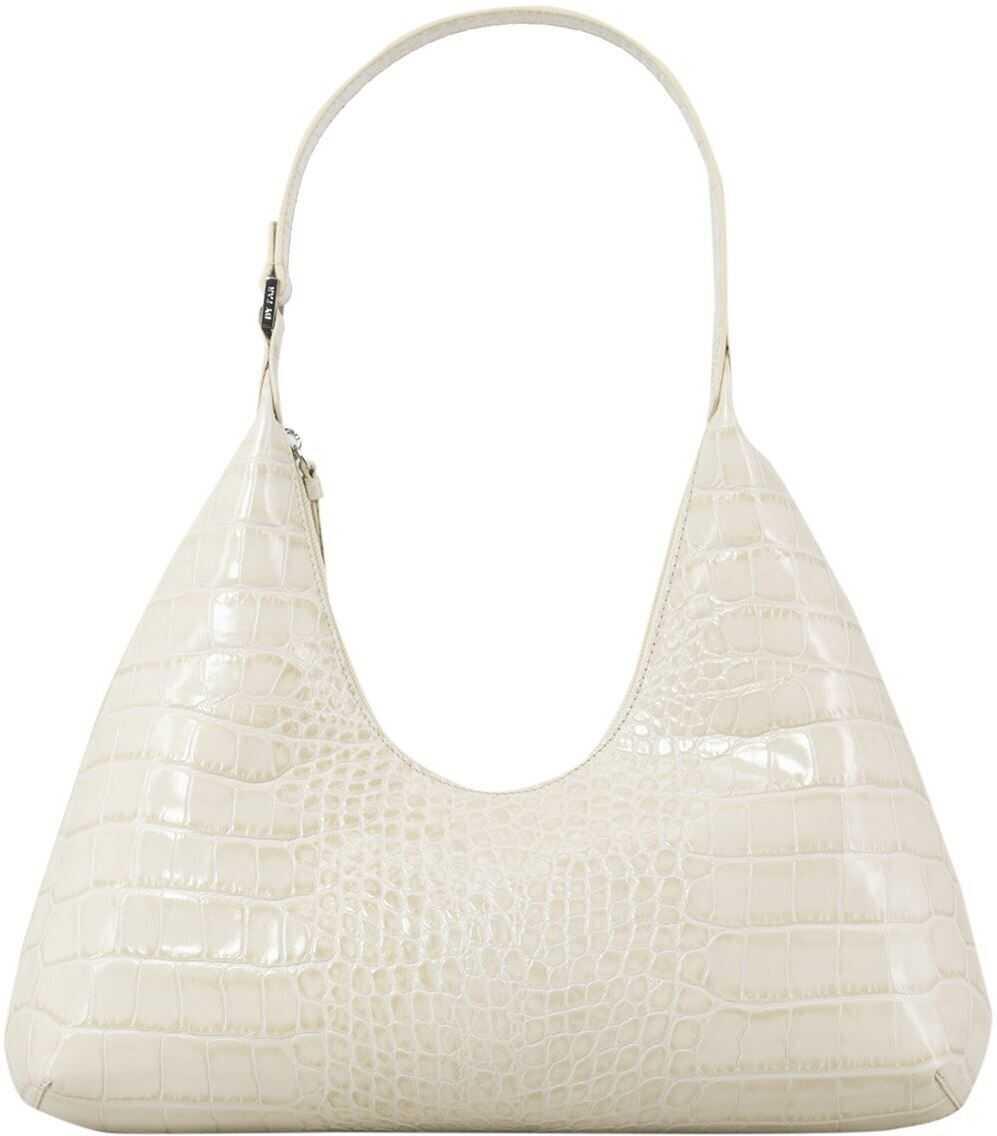 BY FAR Amber Bag In Ivory Color 20CRAMRSCEDLAR White imagine b-mall.ro