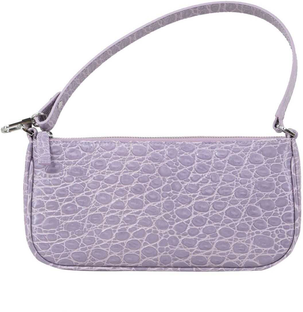 BY FAR Rachel Bag In Lilac 21CRRCLSLLDMED Purple imagine b-mall.ro