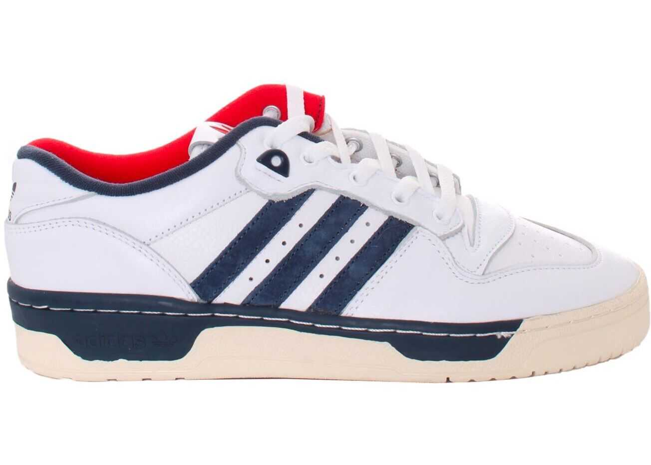 adidas Originals Rivalry Low Premium Sneakers In White FY8031 White imagine b-mall.ro