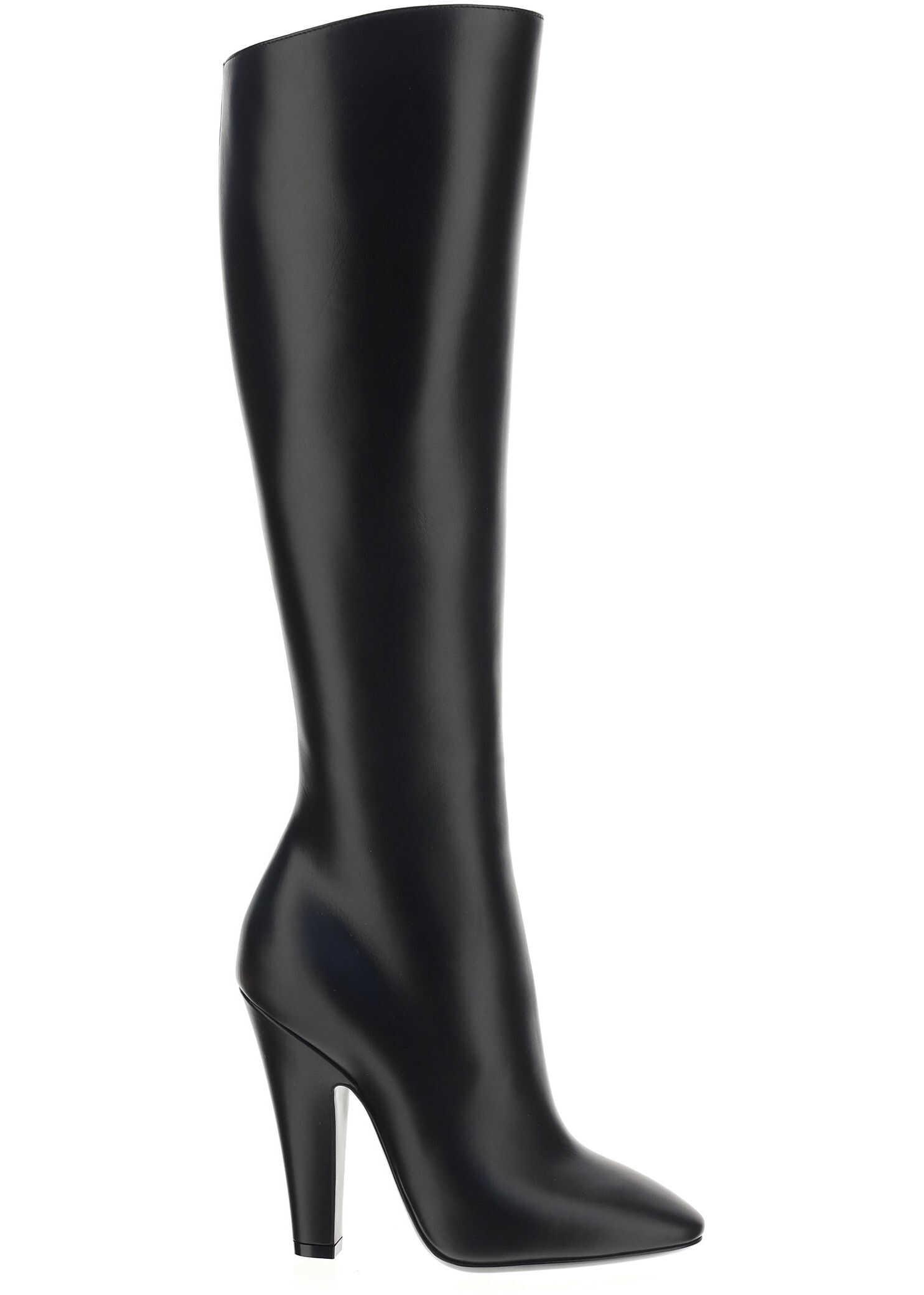 Saint Laurent Boots 6579222W700 NERO imagine b-mall.ro