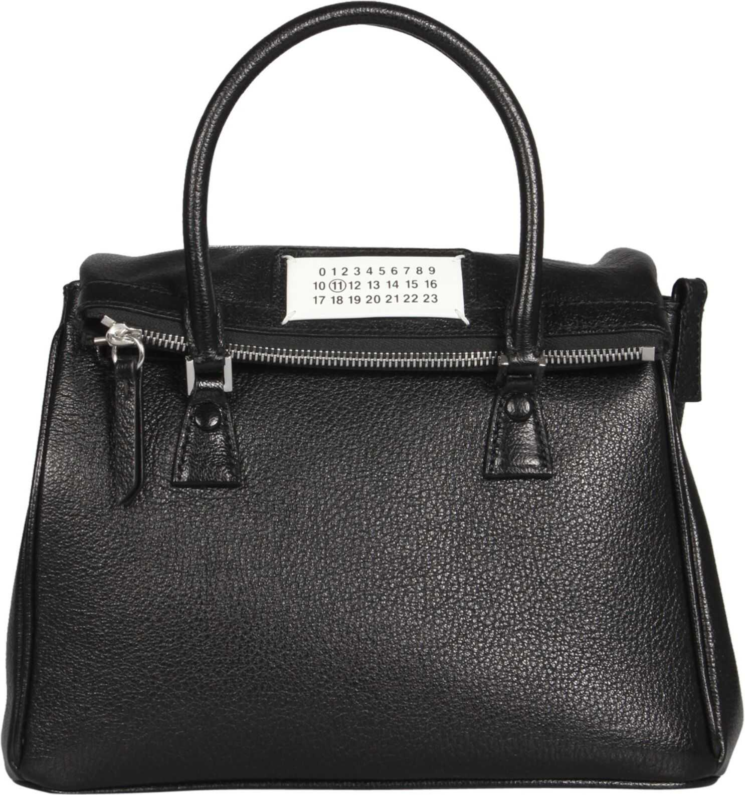 Maison Margiela 5Ac Bag S56WD0071_PR044T8013 BLACK imagine b-mall.ro