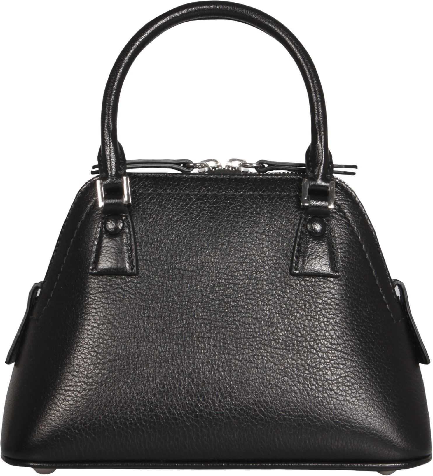 Maison Margiela Micro 5Ac Bag S56WG0081_PR044T8013 BLACK imagine b-mall.ro