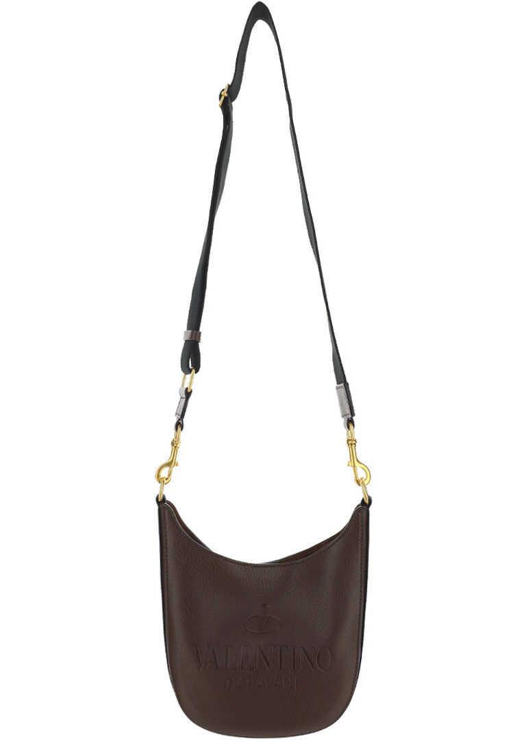 Valentino Garavani Hobo Small Shoulder Bag VY0B0A78QPT FONDANT imagine b-mall.ro
