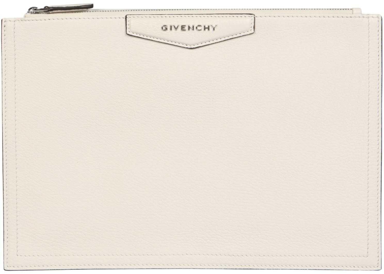 Givenchy Antigona Pouch BB609CB00B_105 WHITE imagine b-mall.ro