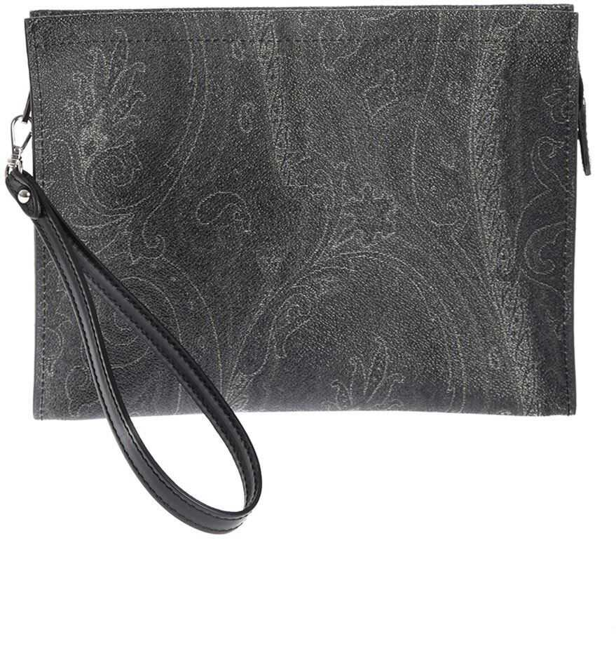 ETRO Paisely Print Beauty Case In Black 0H7848007001 Black imagine b-mall.ro
