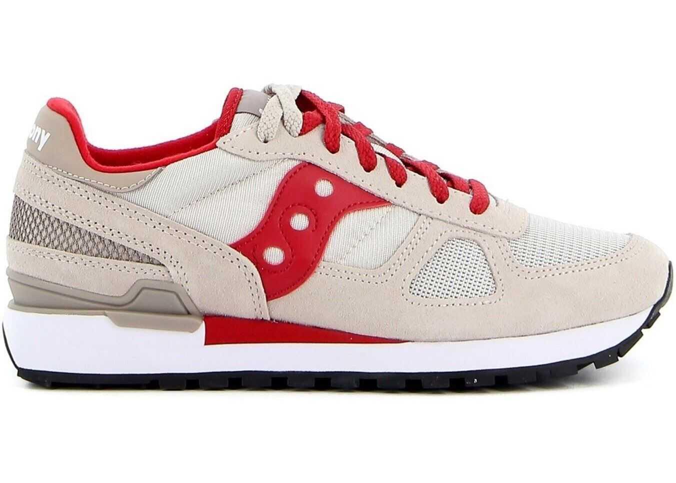 Saucony Shadow Original Sneakers In Beige 2108777 Beige imagine b-mall.ro