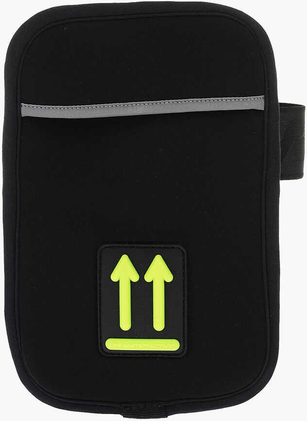 Off-White Arm pouch Smartphone BLACK imagine b-mall.ro