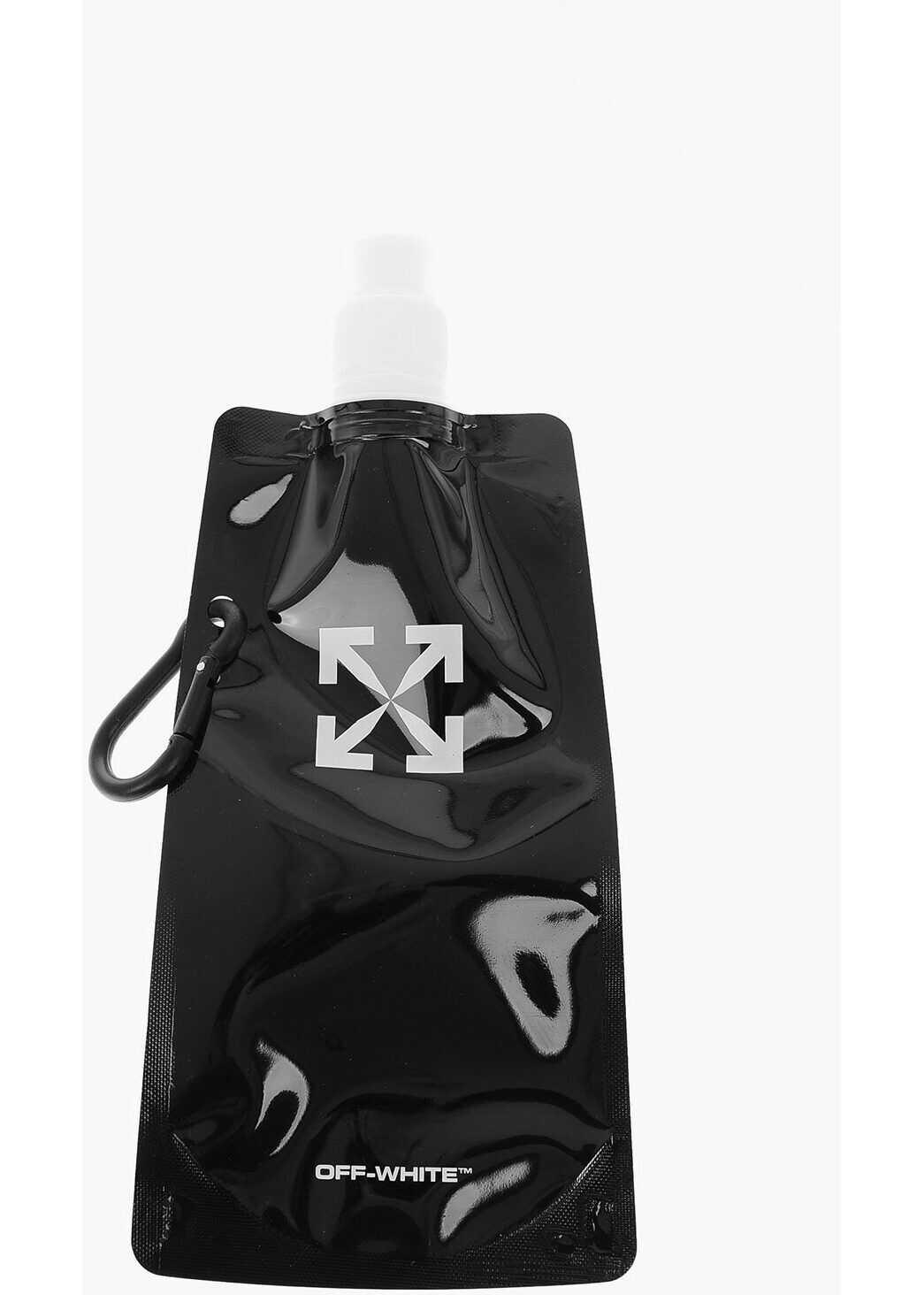 Off-White Flexible water bottle BLACK imagine b-mall.ro