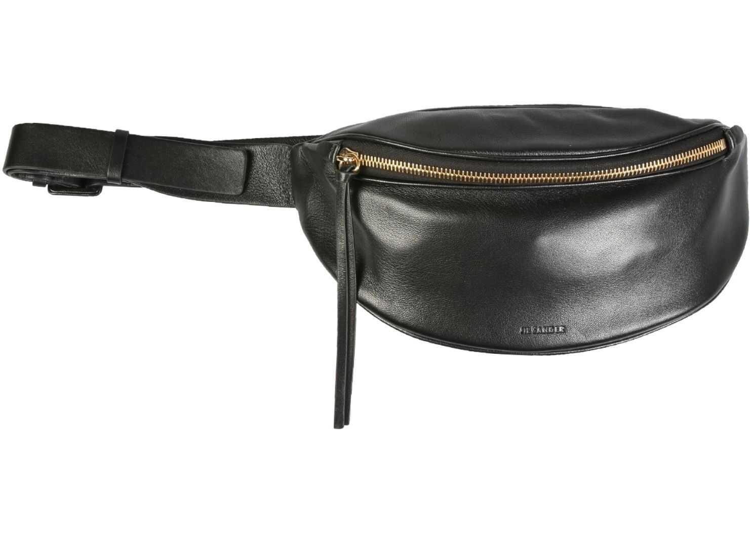 Jil Sander Small Belt Bag JSPS855522_WSB01045N001 BLACK imagine b-mall.ro