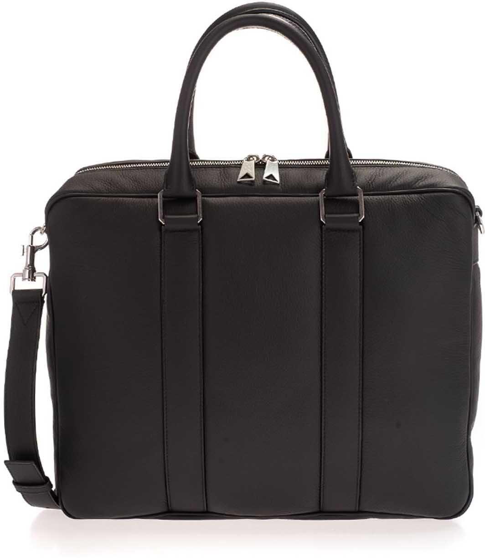 Bottega Veneta Business Bag In Black 650373V0OZ08803 Black imagine b-mall.ro