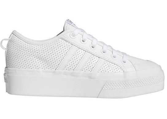 adidas Nizza Platform W* White