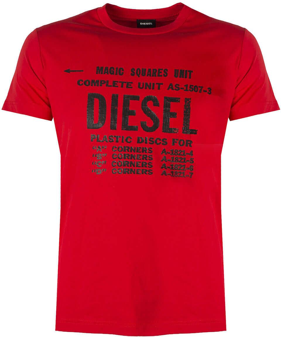 Diesel T-Diego-B6 00SXE6* Czerwony