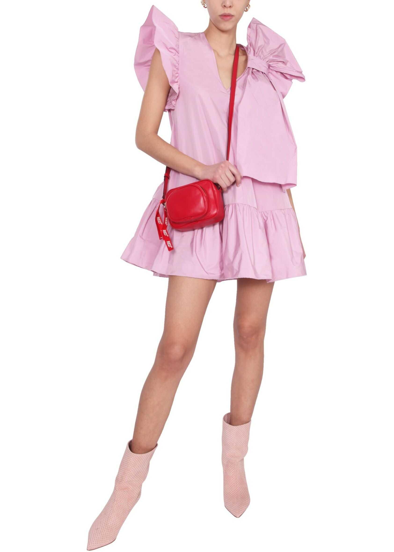 RED VALENTINO Taffeta Dress* PINK
