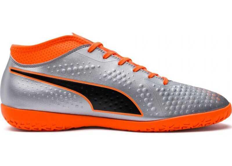 PUMA 10475001* Orange/Gray/Silver