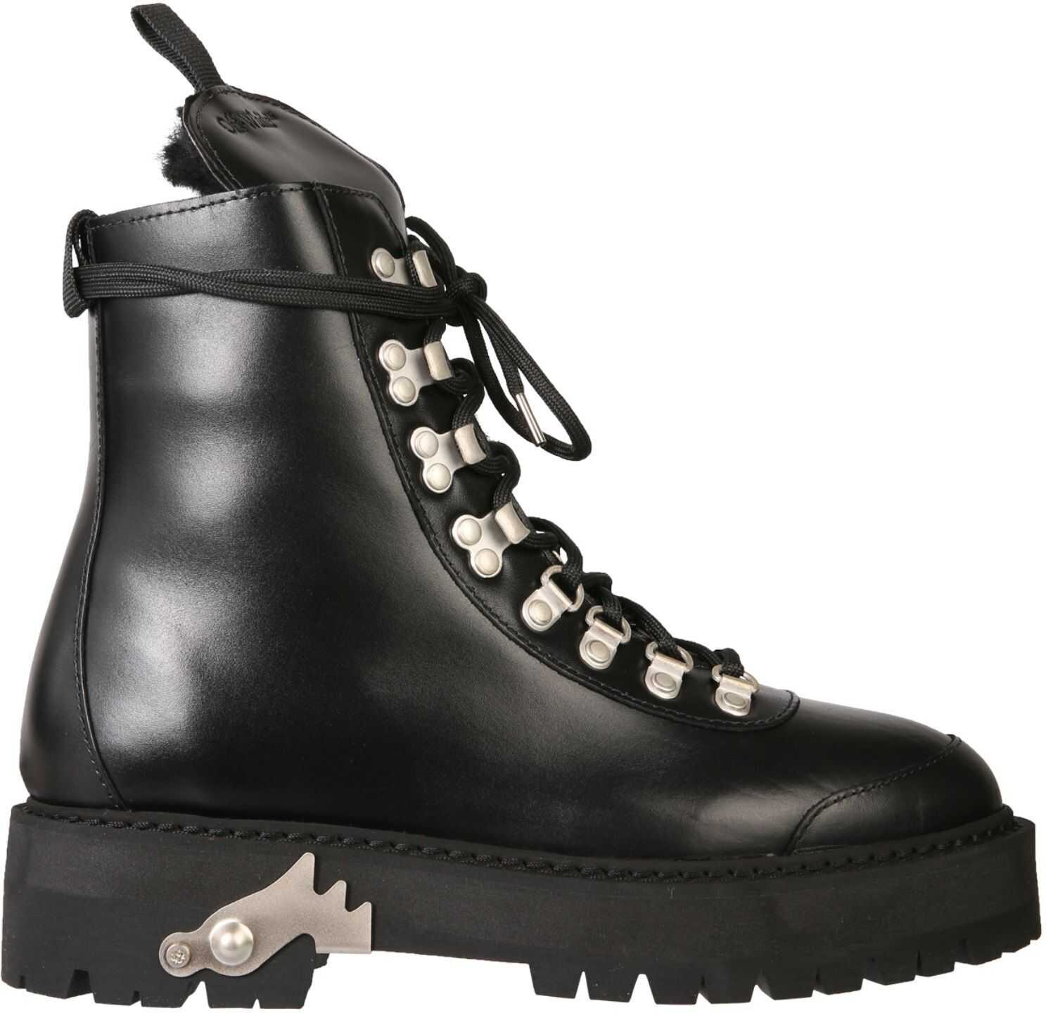 Off-White Hiking Boots* BLACK