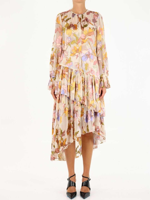 ZIMMERMANN Asymmetrical Tempo Dress 5810DTEM Multicolor image0