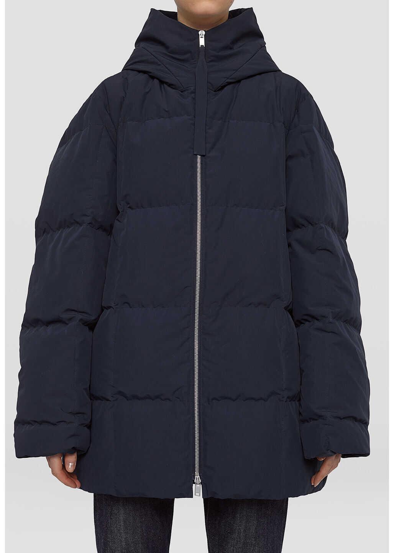Jil Sander Oversized Midnight Down Jacket JPPT441694 WT441100 Blue image0