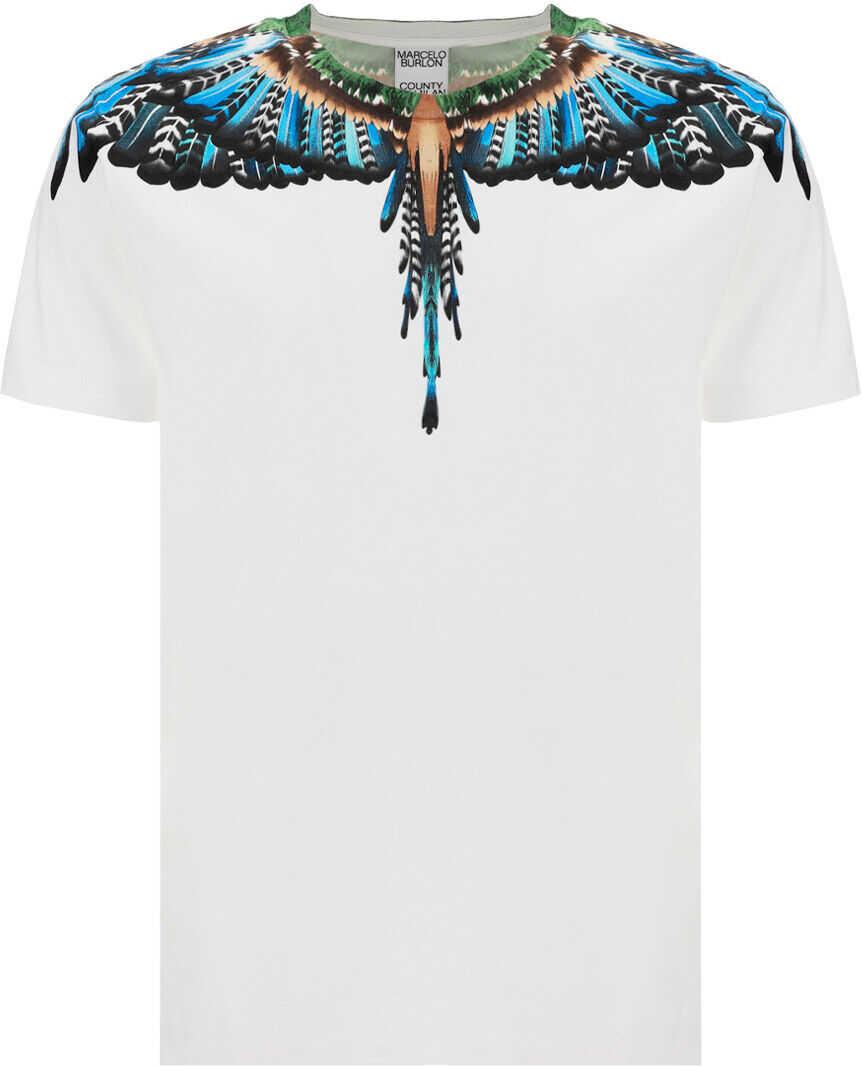Marcelo Burlon T-Shirt* WHITE LIGHT