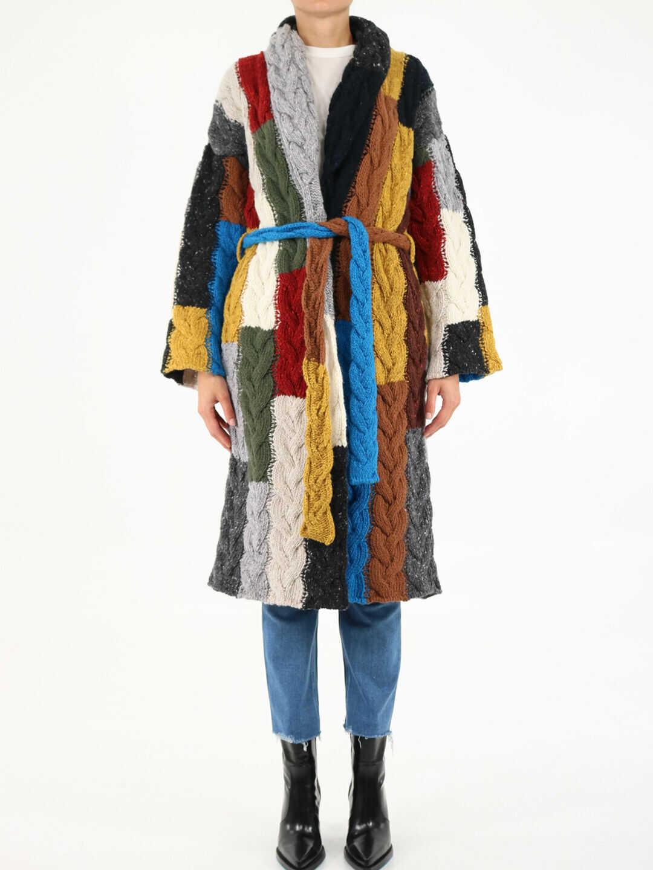 ALANUI Tierra Del Fuego Coat LWHA043F21KNI001 Multicolor image0