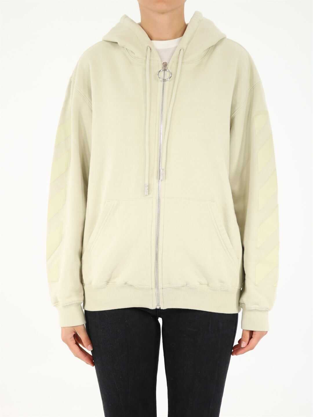 Off-White Hoodie With Arrows OWBE005F21JER001 N/A image0