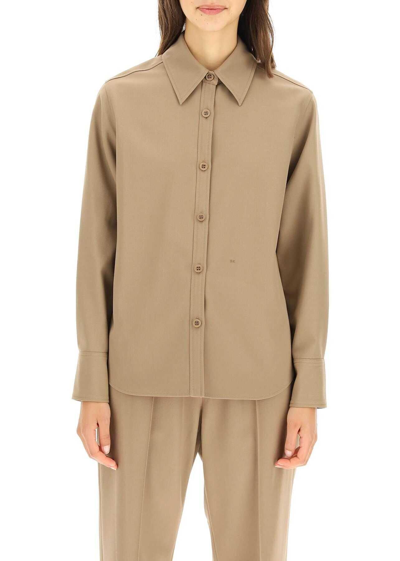 A.P.C. A.p.c. Kent Shirt PSAGD F02704 TAUPE image0