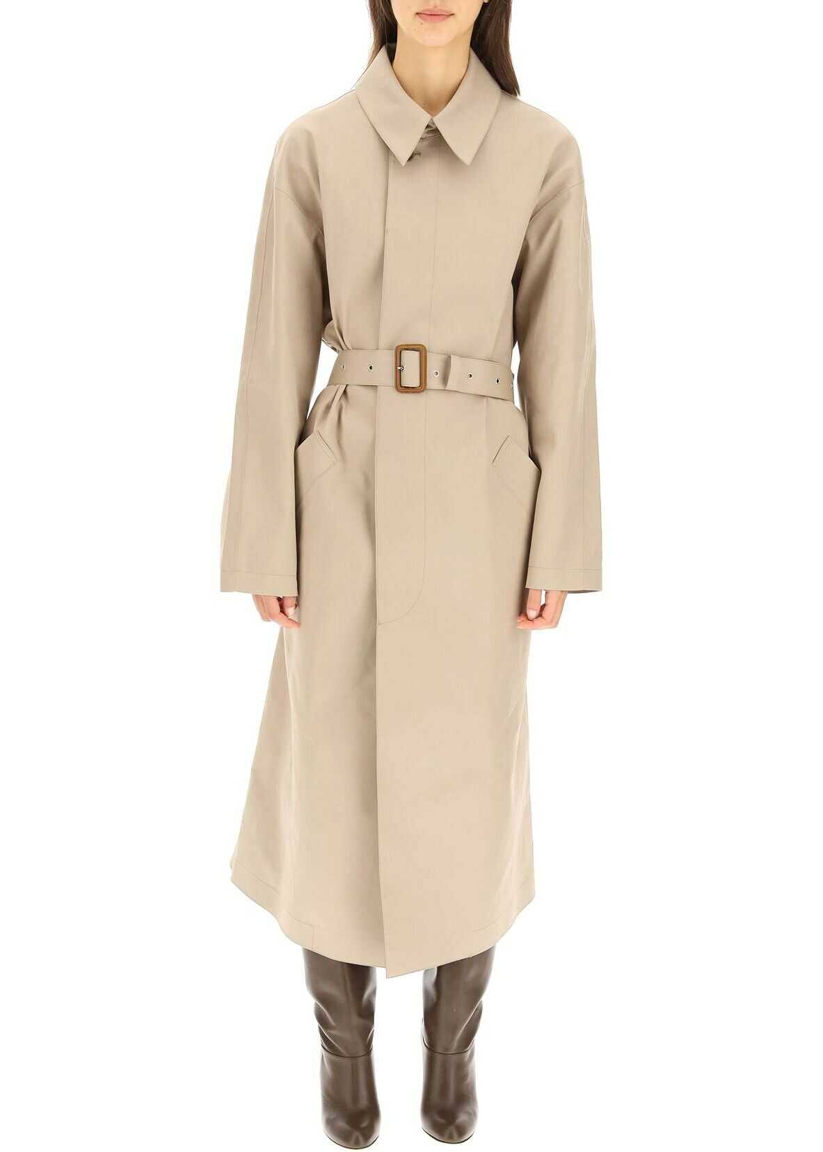 A.P.C. A.p.c. Balt Trench Coat COERZ F01465 TAUPE image0