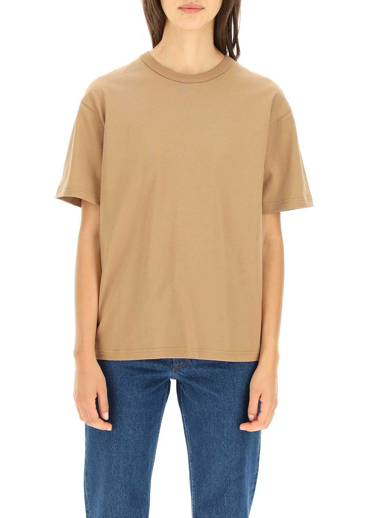 A.P.C. A.p.c. Alma T-Shirt COESE F26042 TABACCO image0