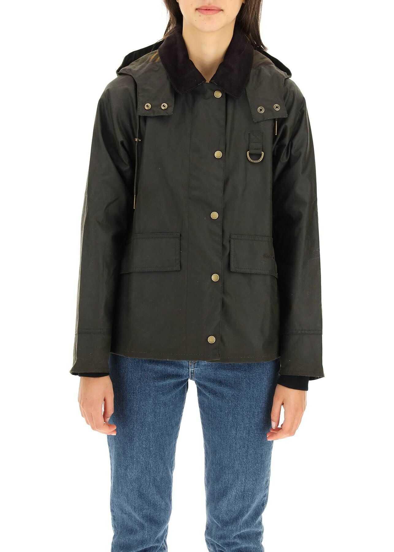 Barbour Avon Wax Jacket LWX1081 OLIVE CLASSIC image0