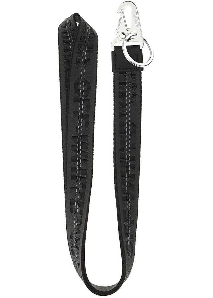 Off-White Necklace Key Holder OMZG052F21FAB001 BLACK BLACK image0