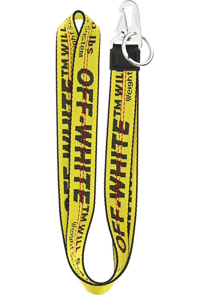 Off-White Necklace Key Holder OMZG052F21FAB001 YELLOW BLACK image0