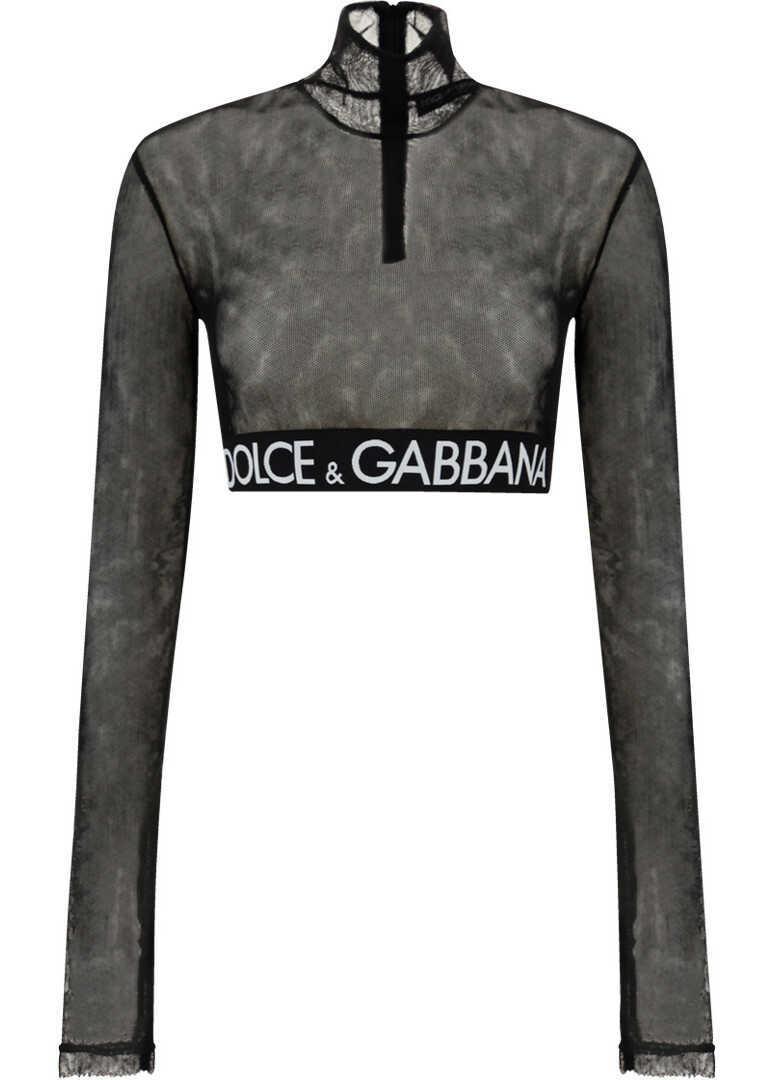 Dolce & Gabbana Top F8N63TFLEAA NERO image0