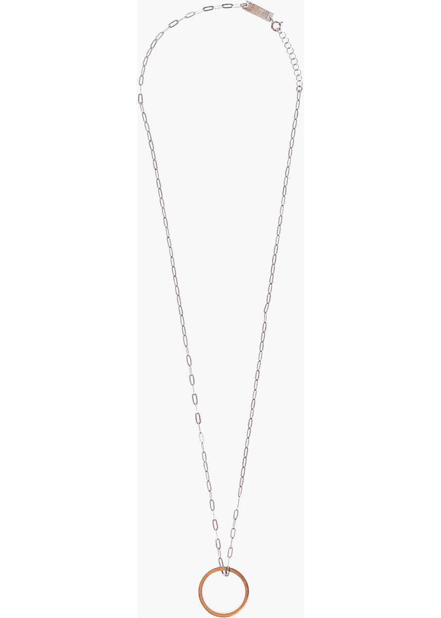 Maison Margiela Mm11 Silver Necklace Silver image0