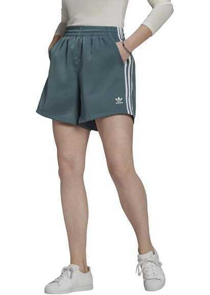 adidas Satin Shorts Green image0