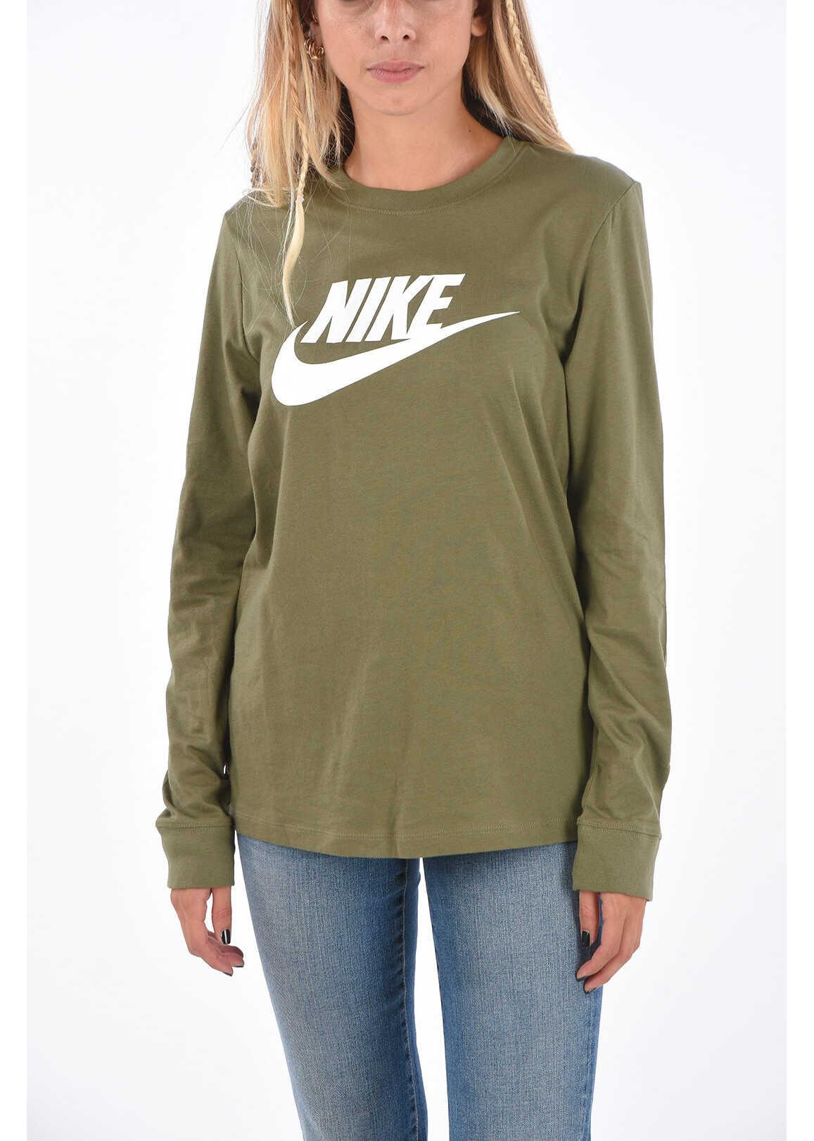 Nike Printed T-Shirt Military Green image0