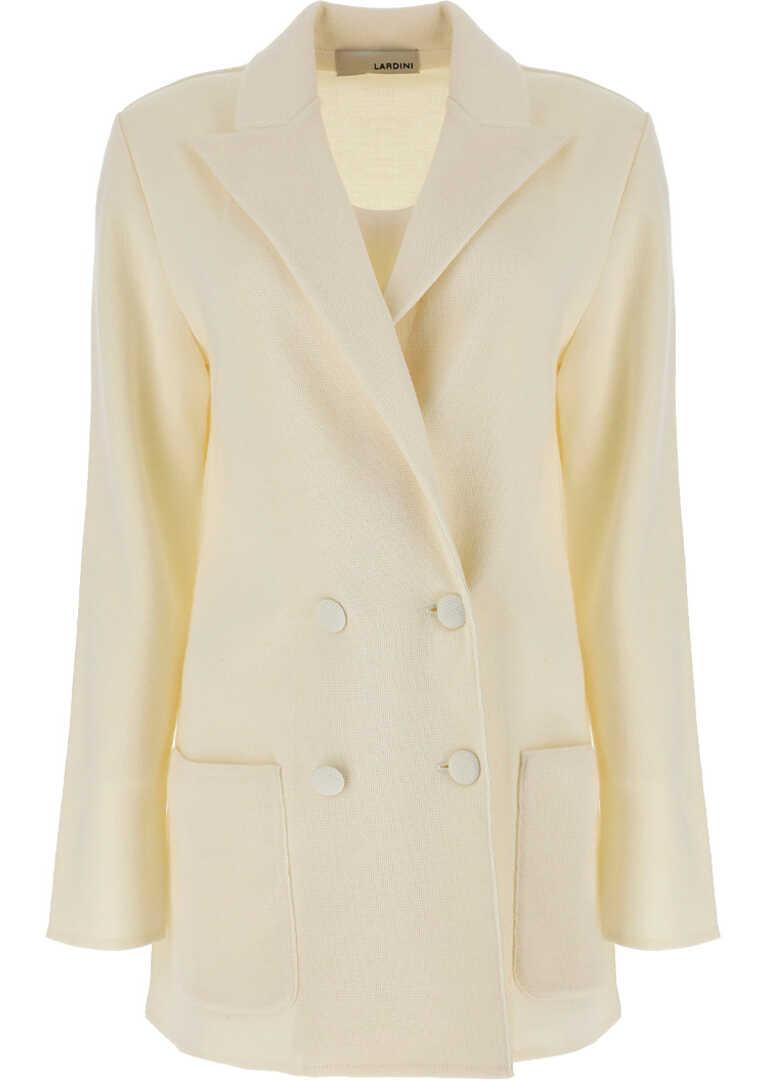 Lardini Jacket DA9920A2GLENN OFF WHITE image0