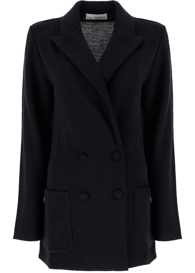 Lardini Jacket DA9920A2GLENN BLACK image0