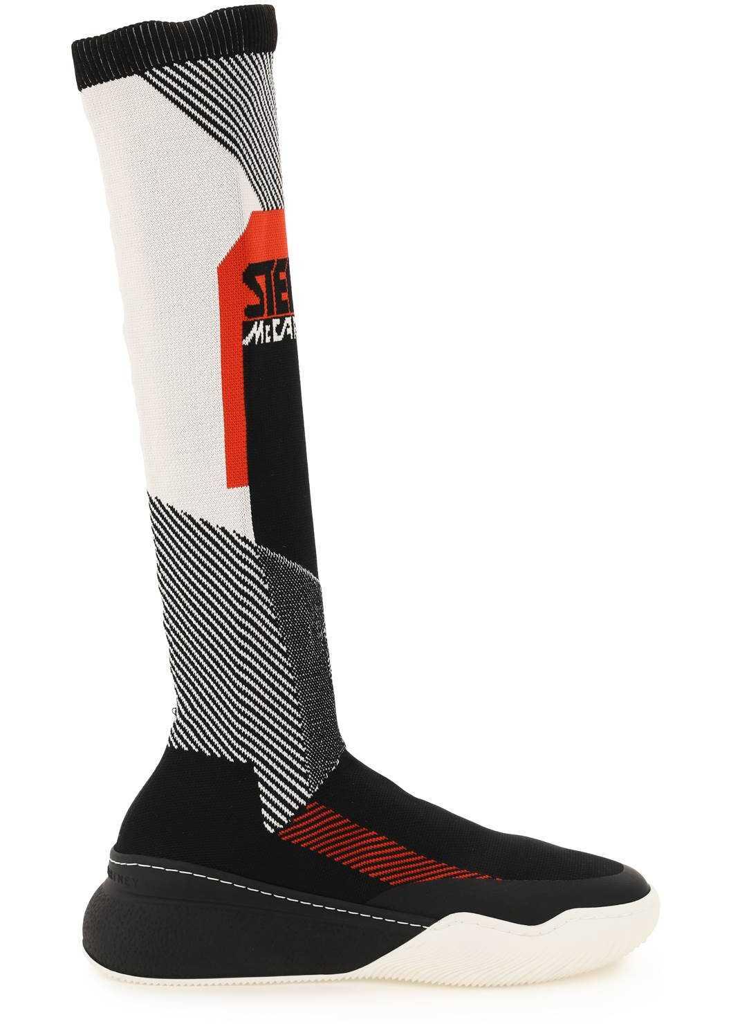 Stella McCartney Loop Sock Sneakers 800395 N0252 MULTI CLOU image0