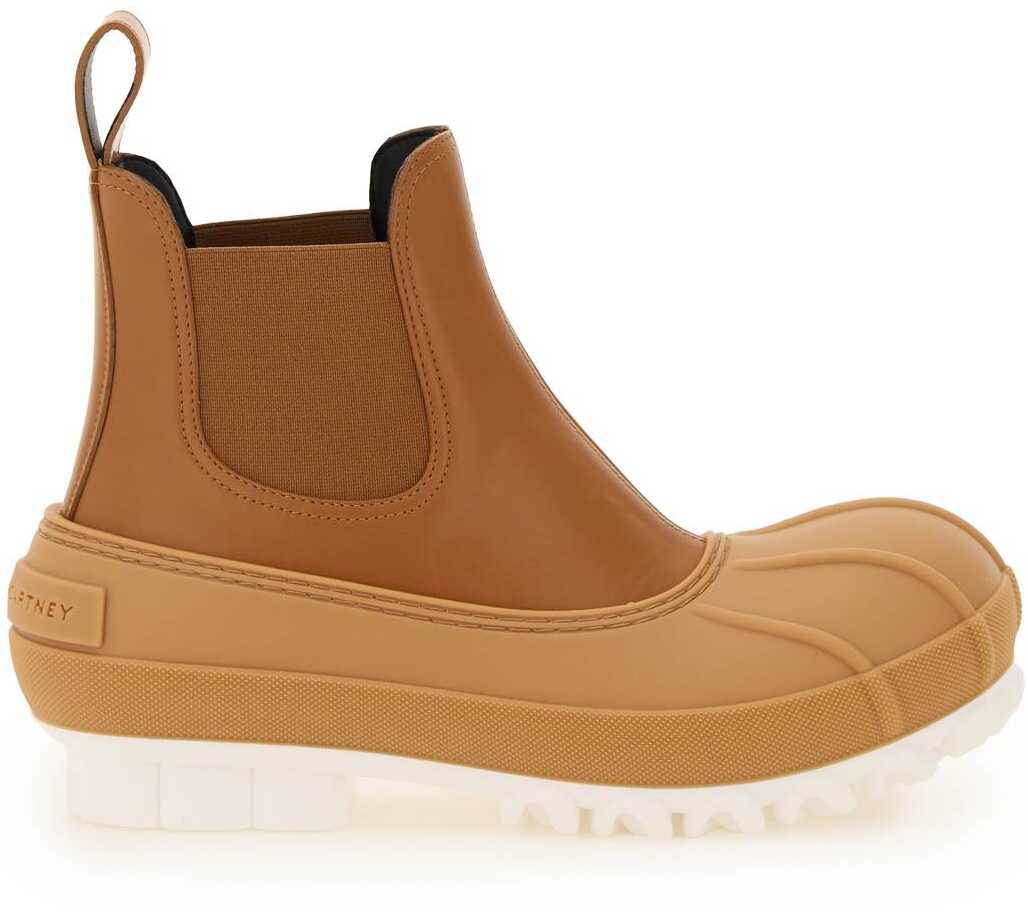 Stella McCartney Duck City Chelsea Boots 800424 N0205 CUOIO image0