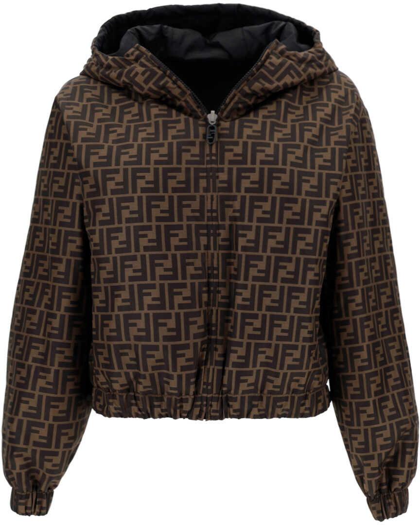 Fendi Jacket FAN052AGMY TOBACCO/MORO image0